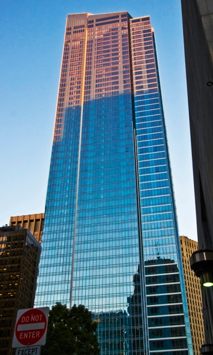 The Millennium Tower is San Francisco's tallest residential highrise and the 4th tallest building in the City.