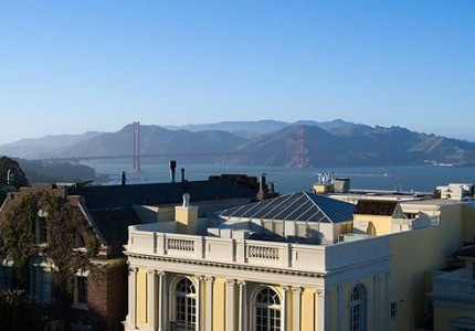From the atrium to the Golden Gate