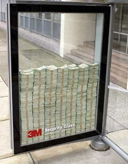 Here's what one million dollars looks like by itself.