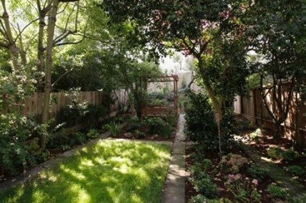 1871 Green's back yard is something out of a fairy tale